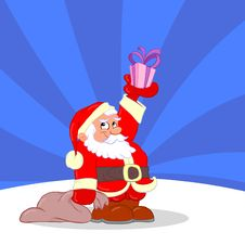 Free Santa Claus Cartoon Stock Photo - 22432770