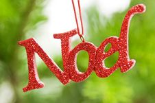 Free Noel Christmas Ornament Royalty Free Stock Photos - 22433308