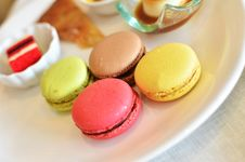 Free Colorful Macaroons Royalty Free Stock Photo - 22433375