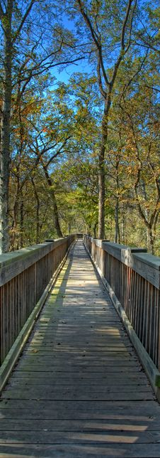 Free Boardwalk To Nowhere Royalty Free Stock Photos - 22433498