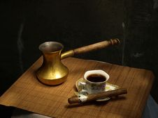 Free Coffee Time Stock Images - 22434924