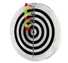 Free Dart Isolated On White Background Stock Photo - 22435980