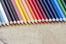 Free Color Pencil Stock Image - 22436581