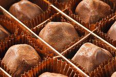 Free Chocolate Truffles Royalty Free Stock Photography - 22437587