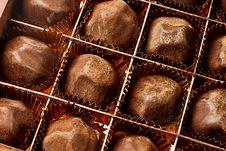 Free Chocolate Truffles Royalty Free Stock Photos - 22437588