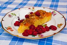 Free Apricot Cake Dessert Royalty Free Stock Images - 22438049
