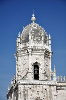 Monastery Of Jeronimos Lisbon Portugal Royalty Free Stock Images