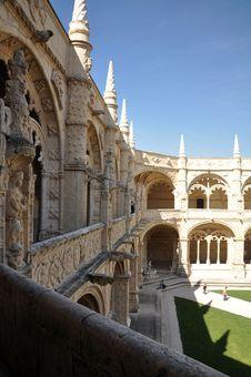 Free Monastery Jeronimos Lisbon Royalty Free Stock Images - 22438319