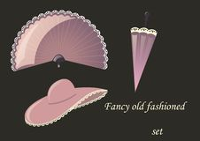 Free Fancy Old Fashioned Set Royalty Free Stock Photography - 22441497