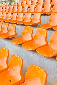 Free Seats Cheering. Stock Images - 22442974