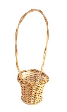 Free Empty Brown Wicker Basket Stock Images - 22443654