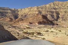 Free View On Canyon Of Timna Park, Israel Royalty Free Stock Photos - 22446368