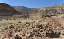 Free View On Canyon Of Timna Park, Israel Royalty Free Stock Photo - 22446405