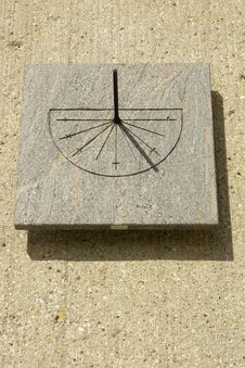 Free Sundial Stock Photography - 22446812