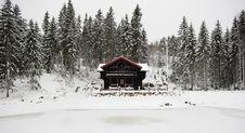 Free Norwegian Architecture Royalty Free Stock Image - 22447576
