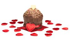 Free Valentine Muffin Royalty Free Stock Image - 22448626