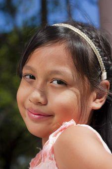 Free Little Girl Smile Stock Photos - 22449703