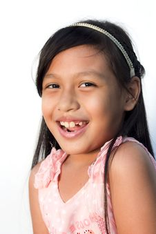 Free Little Girl Smile Royalty Free Stock Photography - 22449747