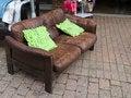 Free Abandoned Old Sofa Royalty Free Stock Image - 22451336