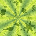 Free Seamless Green Pattern Royalty Free Stock Photo - 22455705