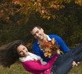 Free Autumn Enjoyment Royalty Free Stock Image - 22459716