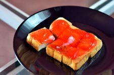 Free Toast And Jam Stock Photos - 22451183