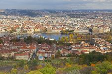 Free View Over To Charles Bridge, And Old Town Prague Royalty Free Stock Photo - 22454475