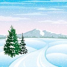 Free Winter Landscape Stock Images - 22456834