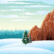 Free Winter Landscape Royalty Free Stock Photos - 22456838