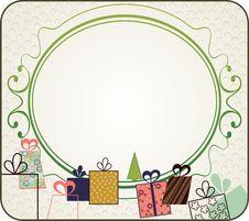 Free Christmas Frame Stock Image - 22457371