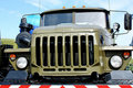 Free Truck Of The Russian Army, Front View Royalty Free Stock Photography - 22462187