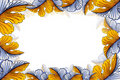 Free Leaf Photo Frame Royalty Free Stock Photo - 22462345