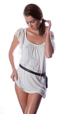 Sexy Woman In Mini Dress Stock Photo