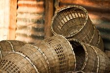 Free Wicker Basket Stock Image - 22461311