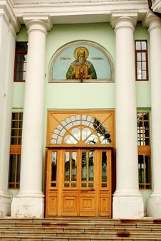 Free Facade Of TheTemple Of St. Martin In Moscow Royalty Free Stock Images - 22462159