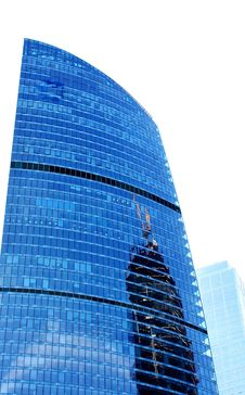 Free Reflection At The Building In Moscow City Stock Photography - 22462202