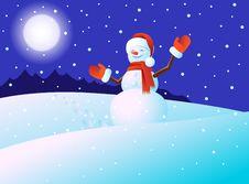 Free Snowmen Royalty Free Stock Images - 22462309