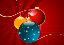 Free Magic Christmas Background In Red Colors Stock Photo - 22462550