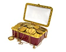 Free Treasure Chest Royalty Free Stock Images - 22467019