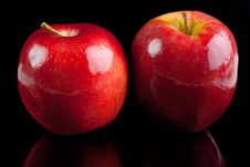 Free Red Apples Royalty Free Stock Photography - 22470457