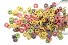 Free Sugary Cereals Royalty Free Stock Image - 22471326