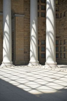 Free Great Colonnade Stock Photography - 22471422