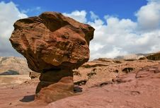 Free Geological Formation, Timna Park, Israel Royalty Free Stock Image - 22474296