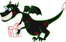 Free Black Dragon Stock Photo - 22475520