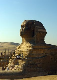 Free Sphinx Of Giza. Stock Photography - 22476282