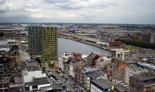 Free Antwerp, Aerial View. Royalty Free Stock Image - 22476296