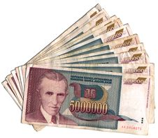 Free Yugoslav Dinars Stock Photography - 22476572
