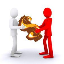 Free Earning Money Royalty Free Stock Image - 22478436