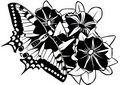 Free Butterfly On Flowers Stock Photos - 22488533