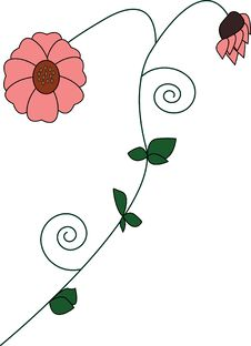Free Beautiful Flower Illustration Royalty Free Stock Image - 22481056
